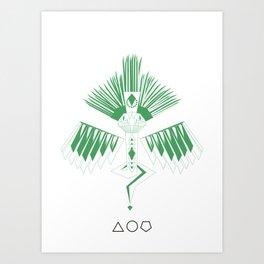 Quetzalcoalt Art Print