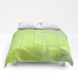future fantasy radioactive Comforters