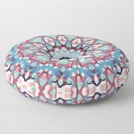Geometric ornament 19 Floor Pillow