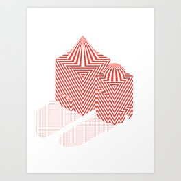 Patterned 5B Art Print