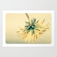 weed Art Prints featuring Weed by Dora Birgis
