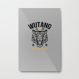 WuTangClan Tiger Metal Print