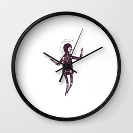 Next Of Kin: The Science Of Praying Wall Clock