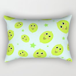 Lime Party Rectangular Pillow