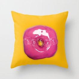 Element Sticky Throw Pillow