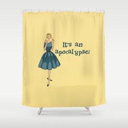 It's an Apocalypse Shower Curtain