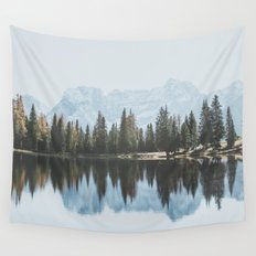 Italian Dolomites (landscape version) Wall Tapestry