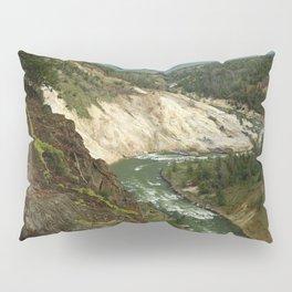 Yellowstone River View Pillow Sham