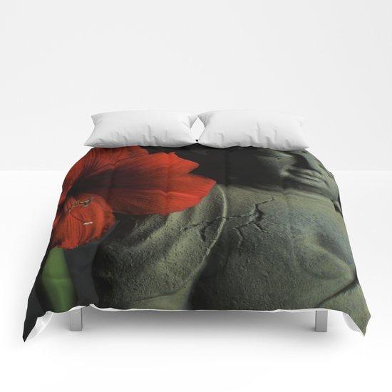Amaryllis Buddha Comforters