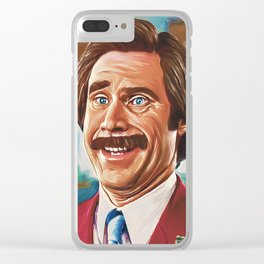 Anchorman Clear iPhone Case