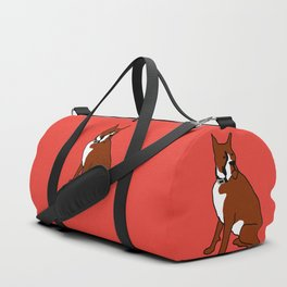 The cool boxer Duffle Bag