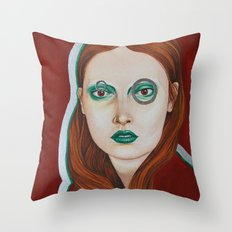 Close Up 10 Throw Pillow