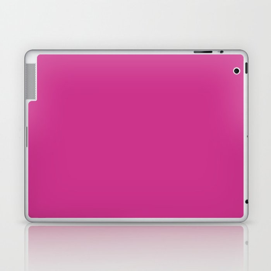 Magenta-Pink - solid color Laptop & iPad Skin