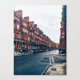 London Road Canvas Print