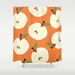 apple pattern Shower Curtain