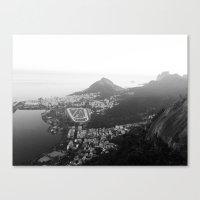 rio de janeiro Canvas Prints featuring Rio de Janeiro, Brasil by Angelika Albaladejo