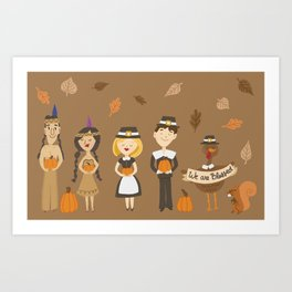 We are Blessed Art Print