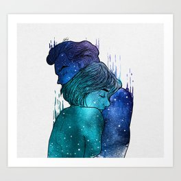 Growing Love. Art Print