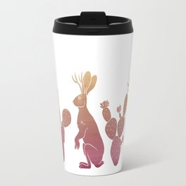 Jackalopes & Prickly Pears Travel Mug