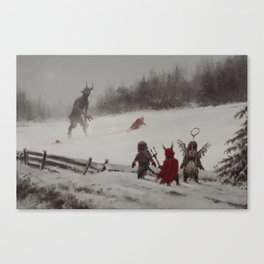 no gifts this year Canvas Print
