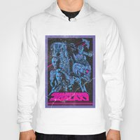 guardians of the galaxy Hoodies featuring Guardians of the Galaxy NEON by Messypandas