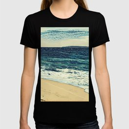 The beach and the sea at Cannes French Riveria T-shirt