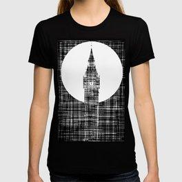 Big Ben Grunge Background T-shirt