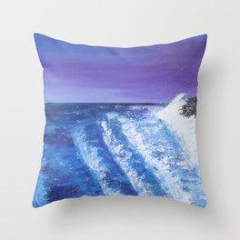 Seven Seas of Rhye Throw Pillow