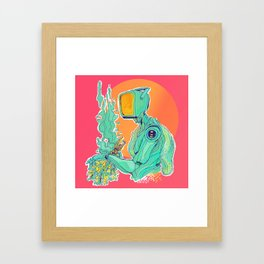 SAUNA [ORIGINAL] Framed Art Print