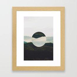 Up side down Framed Art Print