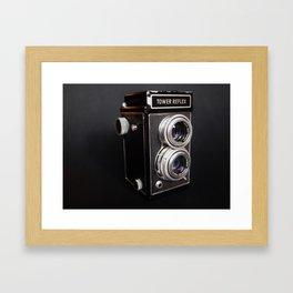 Tower Reflex Framed Art Print