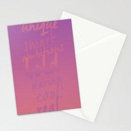 Empowering Sunrise Stationery Cards
