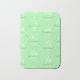 For My Bridesmaid Bath Mat