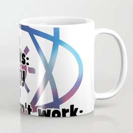 If it moves: Biology  If it stinks: Chemistry  If it doesn't work: Physics Coffee Mug