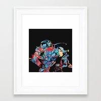 fullmetal alchemist Framed Art Prints featuring Fullmetal Alchemist by lauramaahs