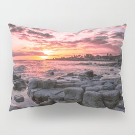 2016 Pink Kauai Sunset Pillow Sham