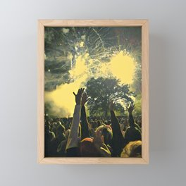 Come to the Michigan Tree Framed Mini Art Print