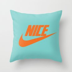 Nike Nice Throw Pillow