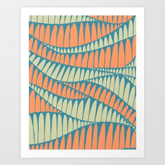 Sahara Desert in pastel colours 7 Art Print