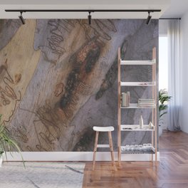 Tree Bark Abstract # 28 Wall Mural