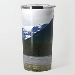 Stutfield Glacier along the Icefields Parkway  in Jasper National Park, Canada Travel Mug