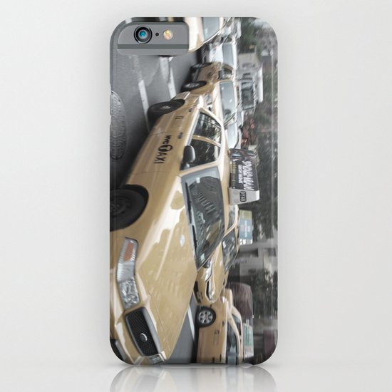 New York City Taxi 03 iPhone & iPod Case