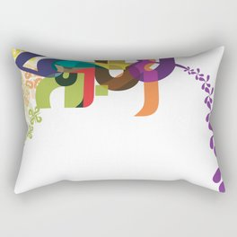 Flowers of Simele Rectangular Pillow