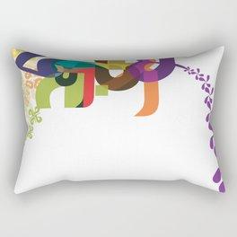 Flowers of Simele Rectangular Pillow