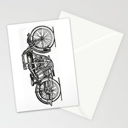 Motorcycle 2 Stationery Cards