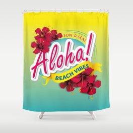 Aloha Beach Vibes I Shower Curtain