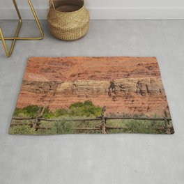 Colorful Mesas 4 - Desert Southwest  Rug