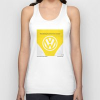 nietzsche Tank Tops featuring No103 My Little Miss Sunshine movie poster by Chungkong