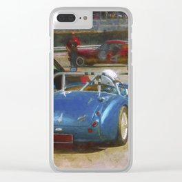 Austin Healey Waiting to Race Clear iPhone Case