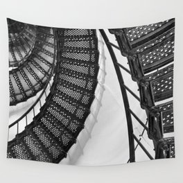 Hunting Lighthouse Stairs 1 Wall Tapestry